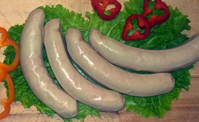 λουκανικα bratwurst